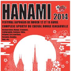 Festival Hanami 2014 à Rouen